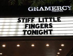 Stiff Little Fingers in NYC